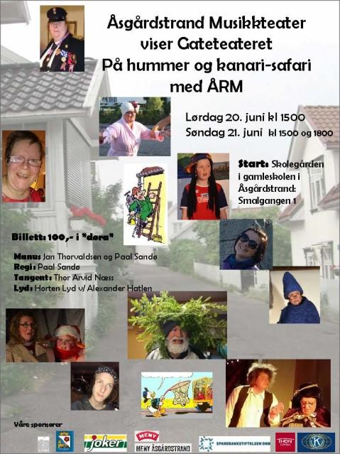 Plakat Hummer og kanari 2015 - 1