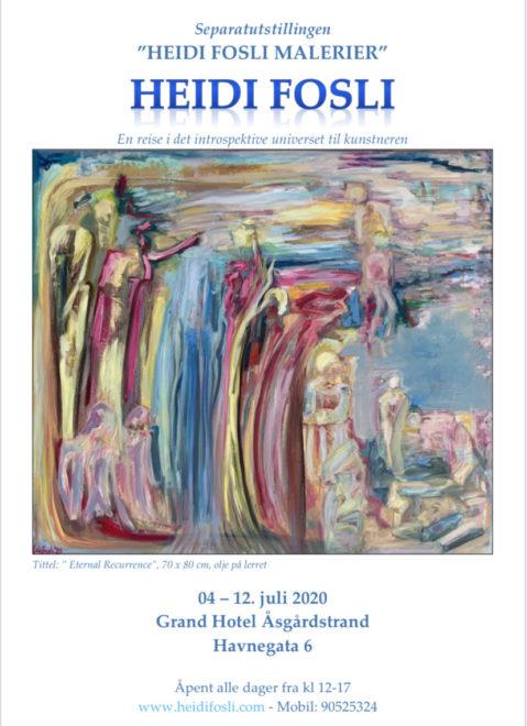 Utstilling Åsgårdstrand 2020